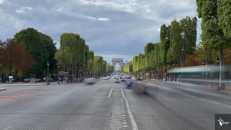 Pose longue Paris VIII by La Photo de Jaz