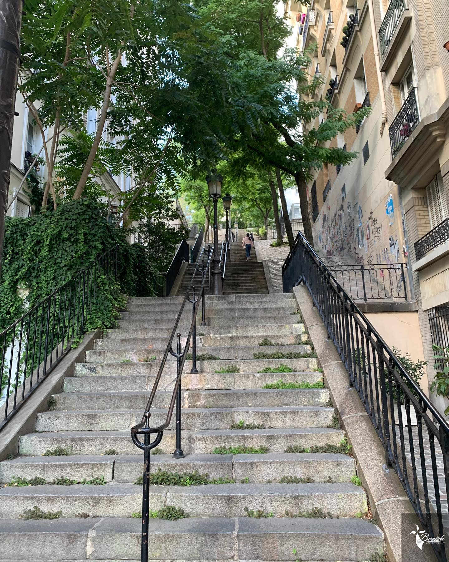 Escalier Montmartre by La Photo de Jaz