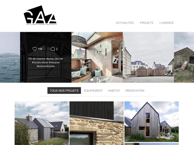 Guillaume Appriou Architecte - Breizh Web Studio Brest